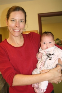 Tracy, CNM and founder of Mountain Midwifery